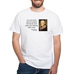 Thomas Jefferson 19 White T-Shirt