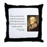 Thomas Jefferson 19 Throw Pillow