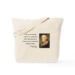 Thomas Jefferson 19 Tote Bag