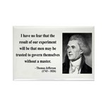 Thomas Jefferson 19 Rectangle Magnet (100 pack)