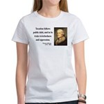 Thomas Jefferson 26 Women's T-Shirt