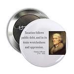 "Thomas Jefferson 26 2.25"" Button (100 pack)"