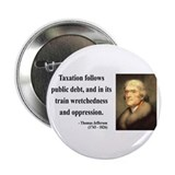 "Thomas Jefferson 26 2.25"" Button (100 pack)"