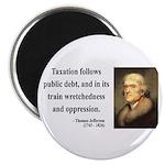 "Thomas Jefferson 26 2.25"" Magnet (100 pack)"