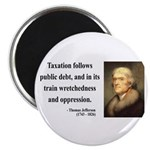 "Thomas Jefferson 26 2.25"" Magnet (10 pack)"