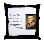 Thomas Jefferson 26 Throw Pillow