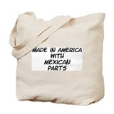 Mexican Parts Tote Bag