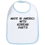Korean Parts Bib
