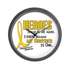 Heroes All Sizes 1 (Brother) Wall Clock