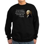 George Washington 6 Sweatshirt (dark)