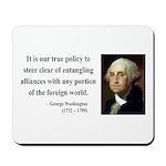 George Washington 6 Mousepad