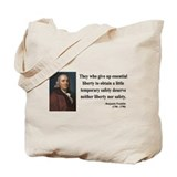 Benjamin Franklin 1 Tote Bag