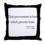 Thomas Paine 1 Throw Pillow