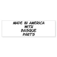 Basque Parts Bumper Sticker (10 pk)