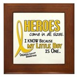 Heroes All Sizes 1 (Little Boy) Framed Tile