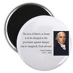 James Madison 3 Magnet