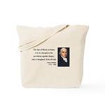 James Madison 3 Tote Bag