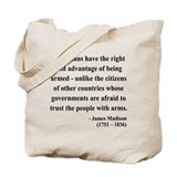 James Madison 6 Tote Bag