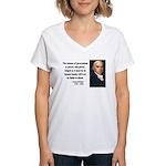 James Madison 9 Women's V-Neck T-Shirt