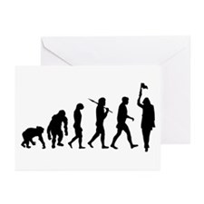 Tourist Guide Historian Greeting Cards (Pk of 20)