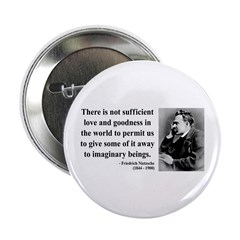 "Nietzsche 28 2.25"" Button (10 pack)"