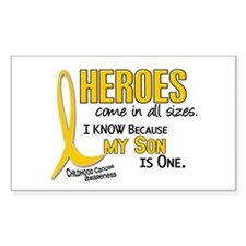 Heroes All Sizes 1 (Son) Rectangle Decal