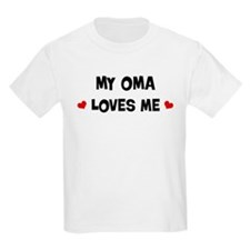 Oma loves me T-Shirt