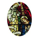 Powells Annunciation Keepsake (Oval)