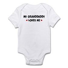 Granddaddy loves me Infant Bodysuit