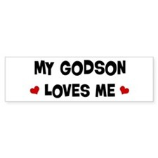 Godson loves me Bumper Sticker (10 pk)