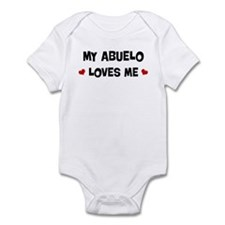 Abuelo loves me Infant Bodysuit