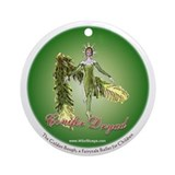 Golden Bough Ballet Ornament (Round)