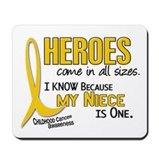 Heroes All Sizes 1 (Niece) Mousepad