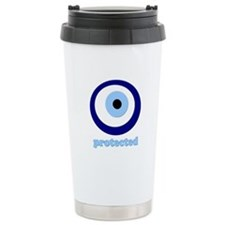protected evil eye Ceramic Travel Mug