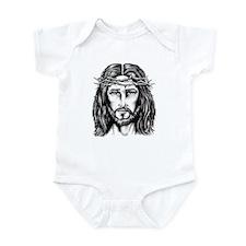 Jesus Crown of Thorns Infant Bodysuit