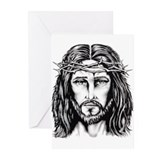 Jesus Crown of Thorns Greeting Cards (Pk of 20)