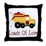 Loads of Love Throw Pillow