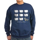 Cartoon Aussie Herding Sweatshirt