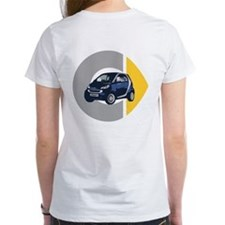 What's Your Color? Blue Women's Smart Car T-Shirt