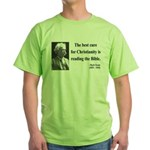 Mark Twain 20 Green T-Shirt