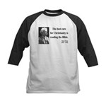 Mark Twain 20 Kids Baseball Jersey
