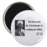 Mark Twain 20 Magnet