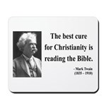 Mark Twain 20 Mousepad