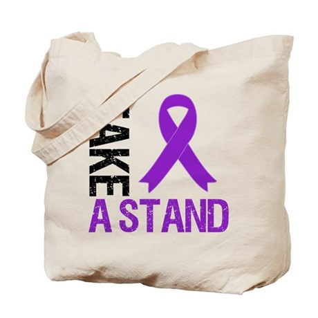 PancreaticCancer TakeAStand Tote Bag