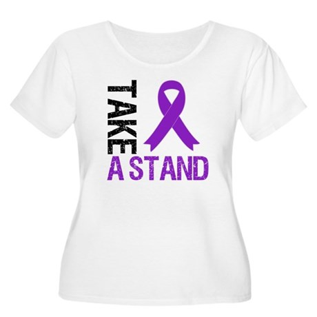 PancreaticCancer TakeAStand Women's Plus Size Scoo