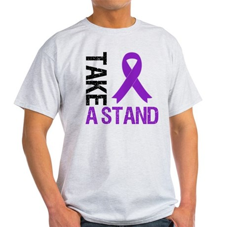 PancreaticCancer TakeAStand Light T-Shirt