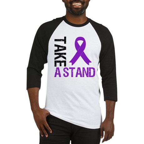 PancreaticCancer TakeAStand Baseball Jersey
