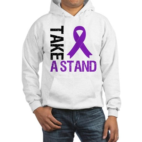 PancreaticCancer TakeAStand Hooded Sweatshirt