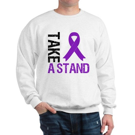 PancreaticCancer TakeAStand Sweatshirt