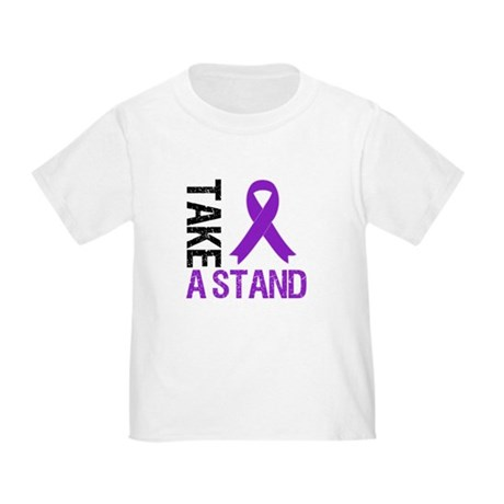PancreaticCancer TakeAStand Toddler T-Shirt